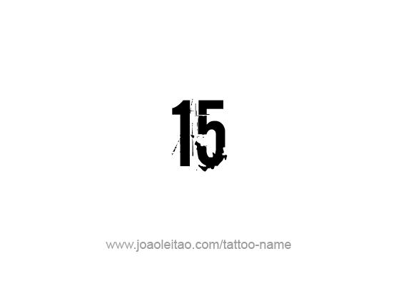 Tattoo Design Number Fifteen