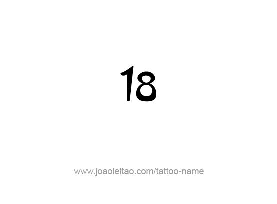 Tattoo Design Number Eighteen