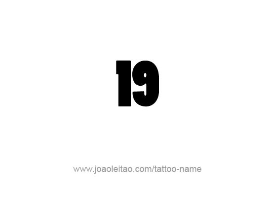 Tattoo Design Number Nineteen