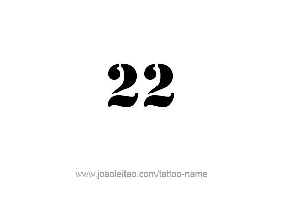 Tattoo Design Number Twenty Two