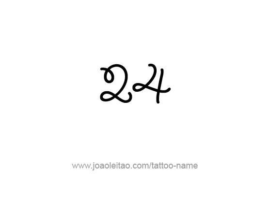 Tattoo Design Number Twenty Four
