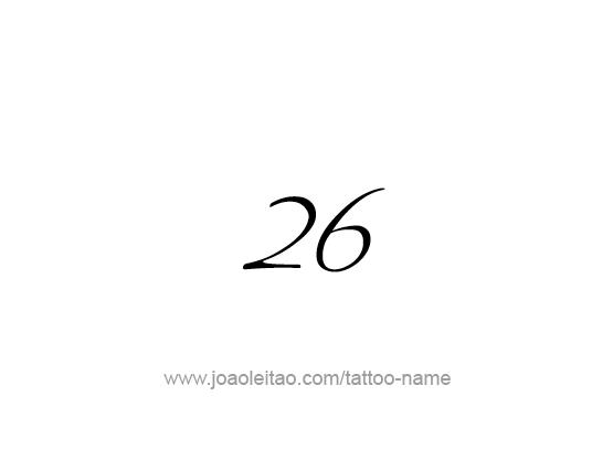 Tattoo Design Number Twenty Six