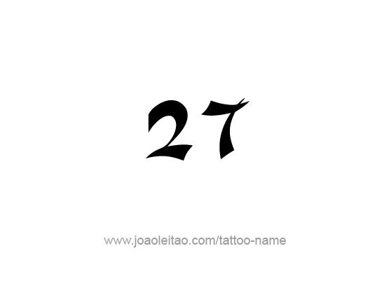 Tattoo Design Number Twenty Seven