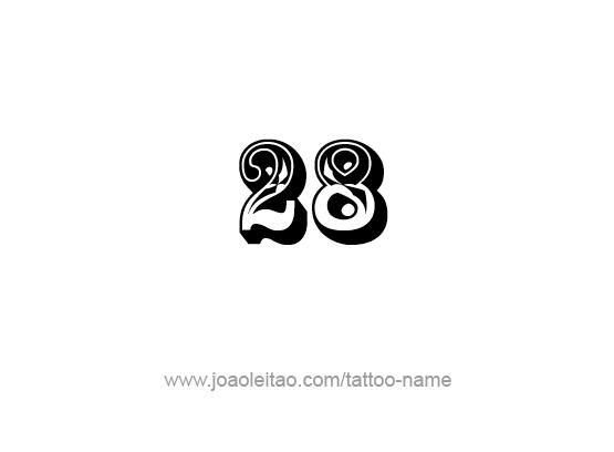 Tattoo Design Number Twenty Eight