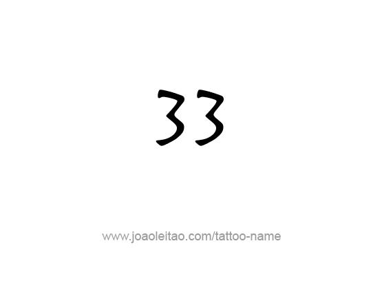 Tattoo Design Number Thirty Three