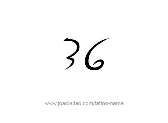 Tattoo Design Number Thirty Six