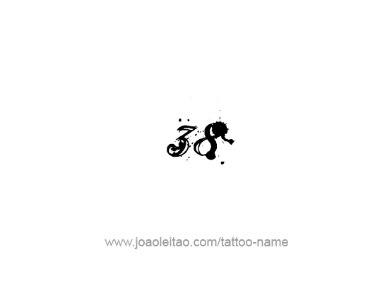 Tattoo Design Number Thirty Eight