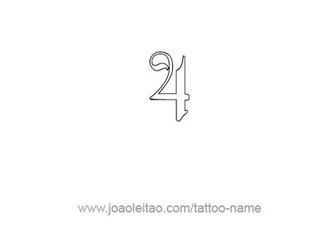 Tattoo Design Number Four