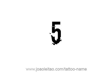 Tattoo Design Number Five