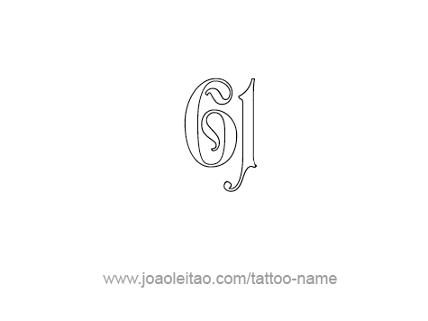 Tattoo Design Number Sixty One