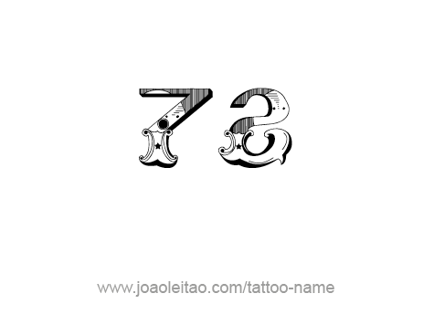 Tattoo Design Number Seventy Two
