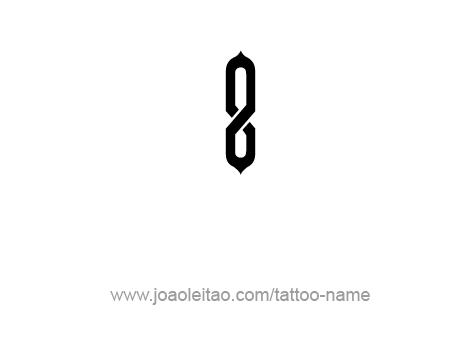 Tattoo Design Number Eight