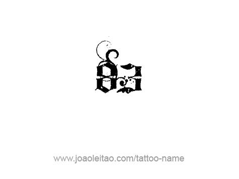Tattoo Design Number Eighty Three