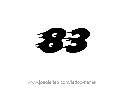 Tattoo Design Number Eighty Three