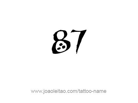 Tattoo Design Number Eighty Seven