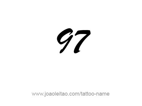 Tattoo Design Number Ninety Seven