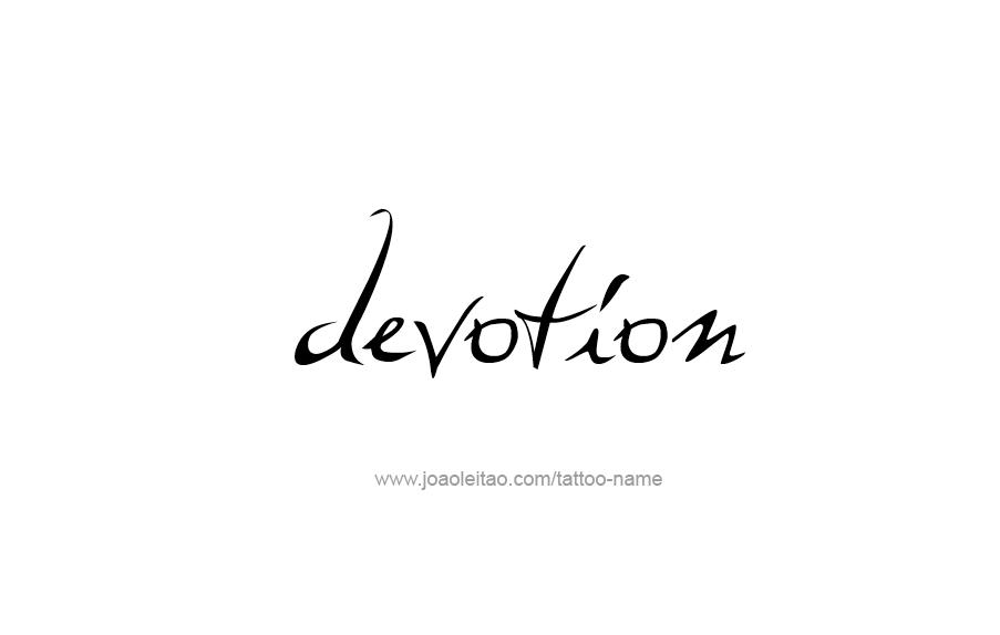 Tattoo Design Feeling Feeling Name Devotion