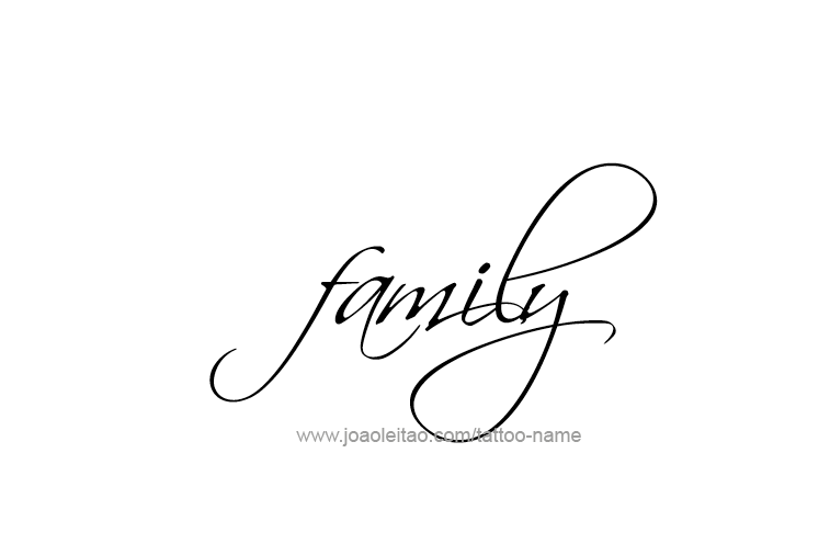 Family Name Tattoo Designs Tattoos With Names