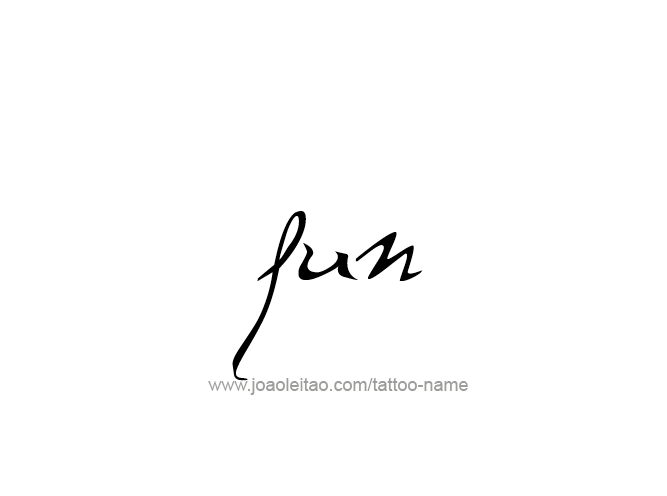 Fun Name Tattoo Designs Tattoos With Names