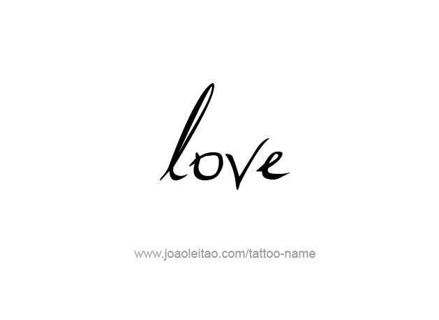 Love Name Tattoo Designs Tattoos With Names