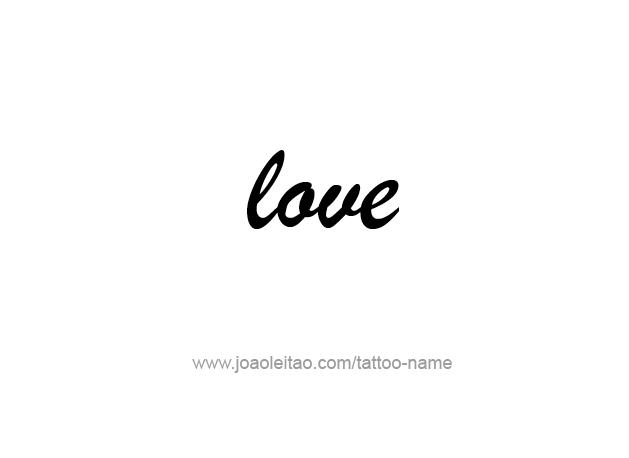 Tattoo Design Name Love