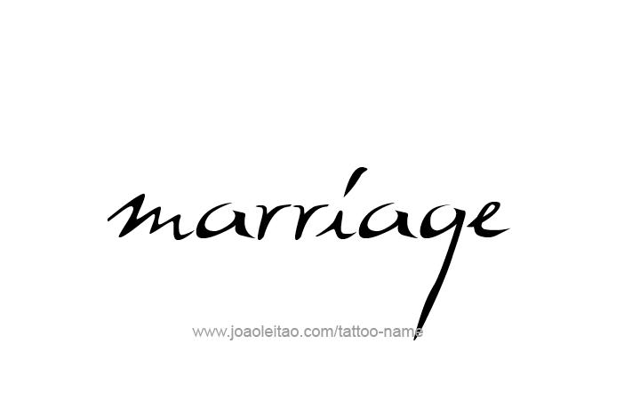 Tattoo Design Love Word Name Marriage
