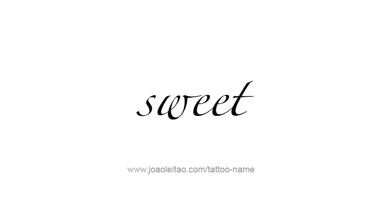 Sweet Name Tattoo Designs Tattoos With Names