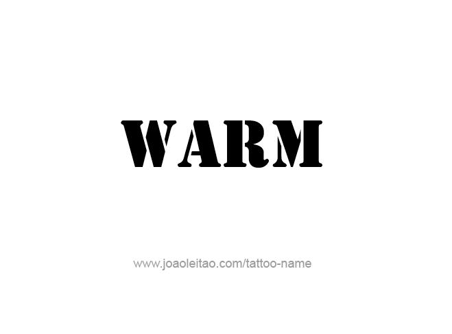 Tattoo Design Love Word Name Warm
