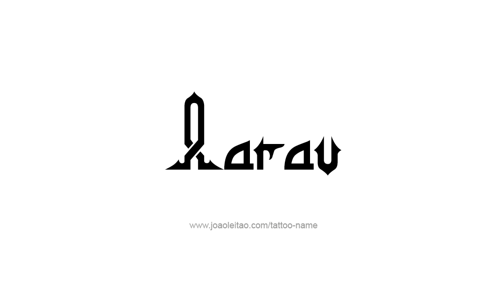 Tattoo Design  Name Aarav