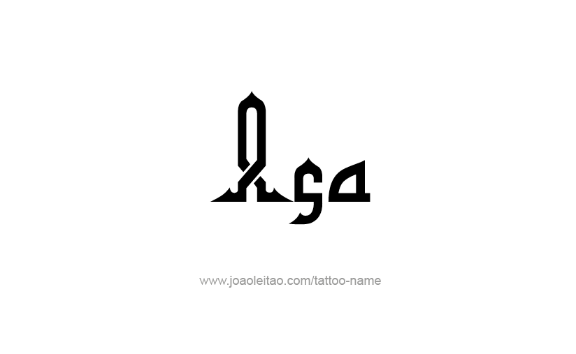 Tattoo Design  Name Asa