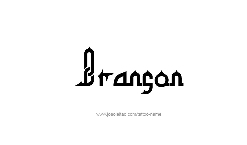 Tattoo Design  Name Branson