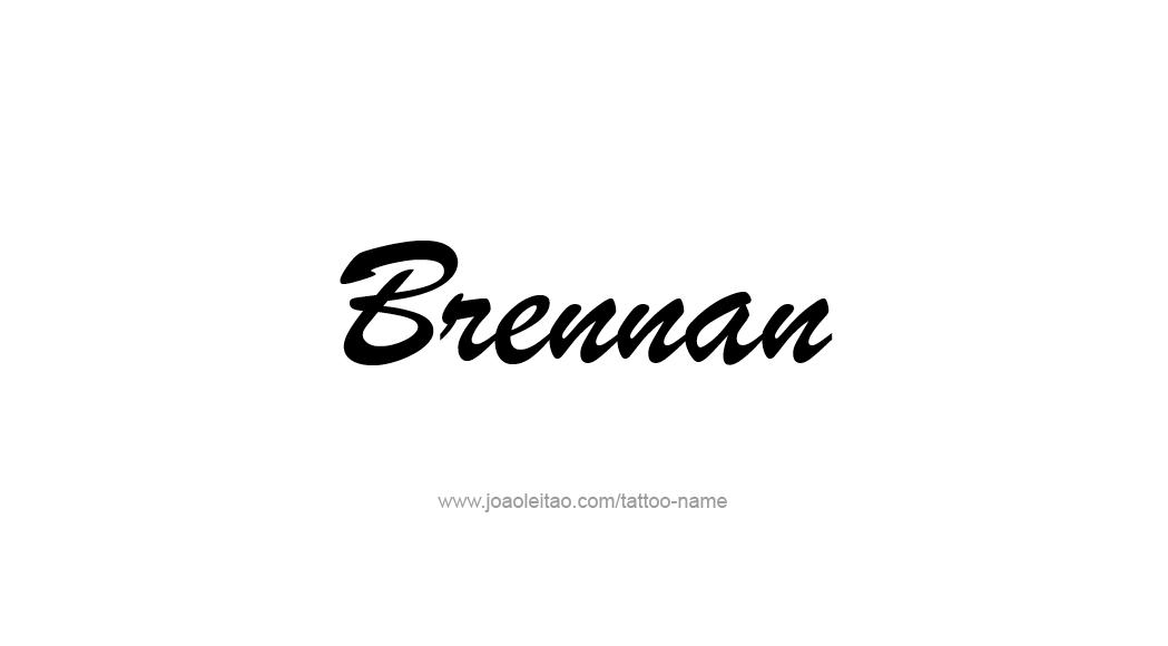 Tattoo Design  Name Brennan