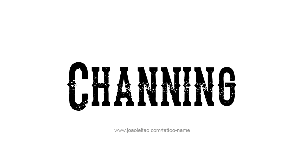 Tattoo Design  Name Channing