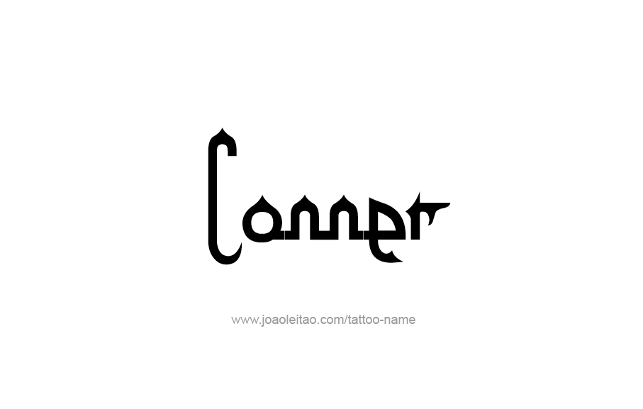 Tattoo Design  Name Conner