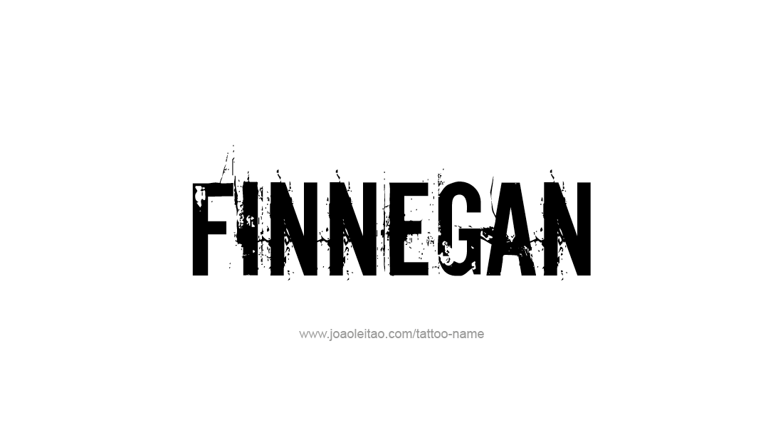 Tattoo Design  Name Finnegan