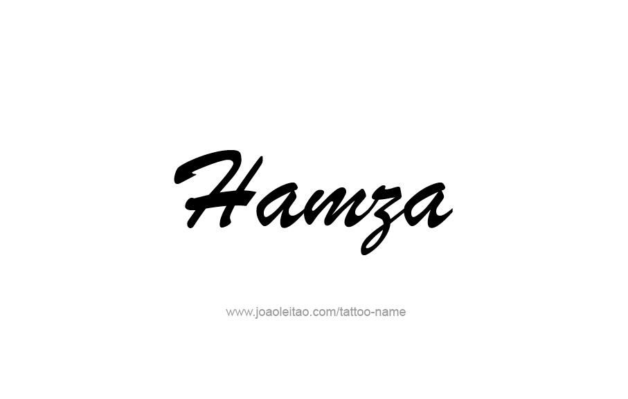 humza name
