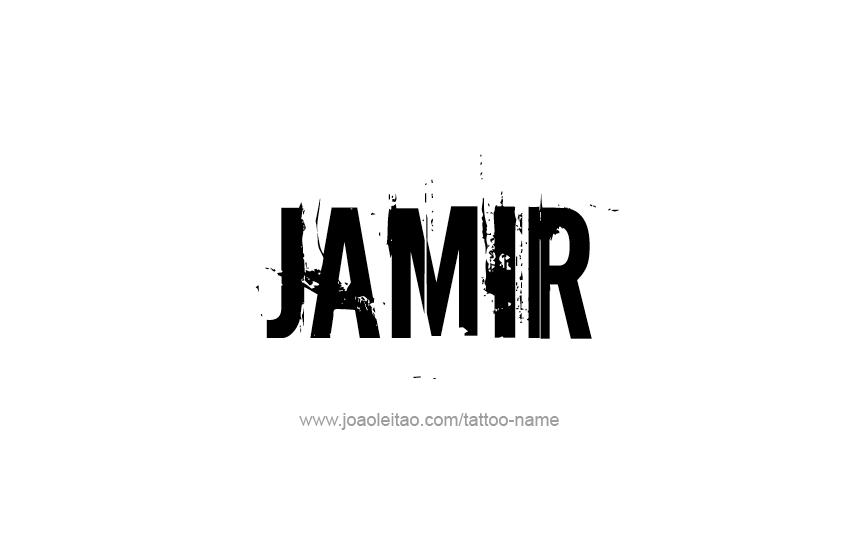 Tattoo Design  Name Jamir