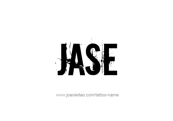 Tattoo Design  Name Jase