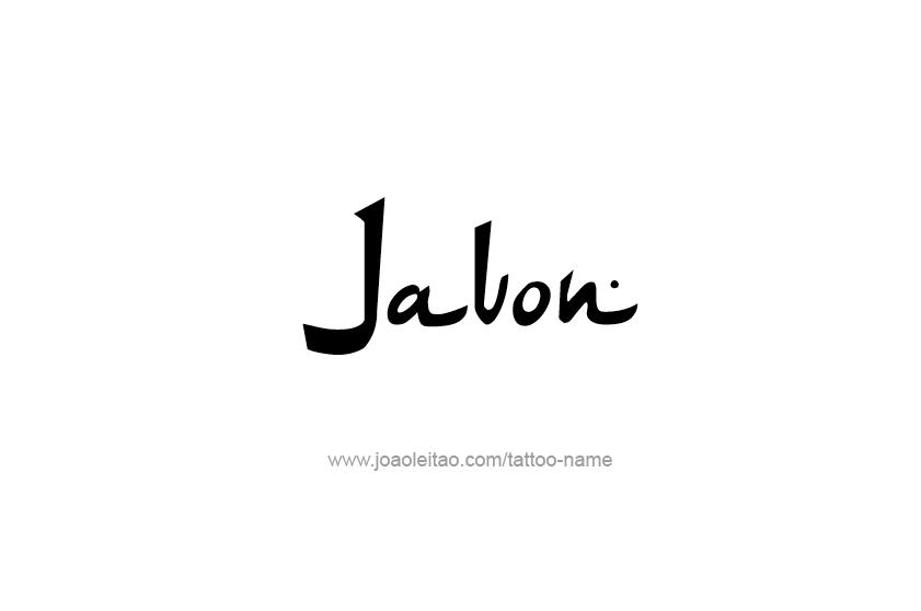 Tattoo Design  Name Javon