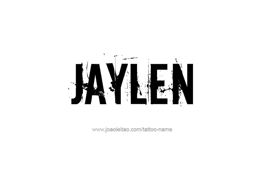 Tattoo Design  Name Jaylen