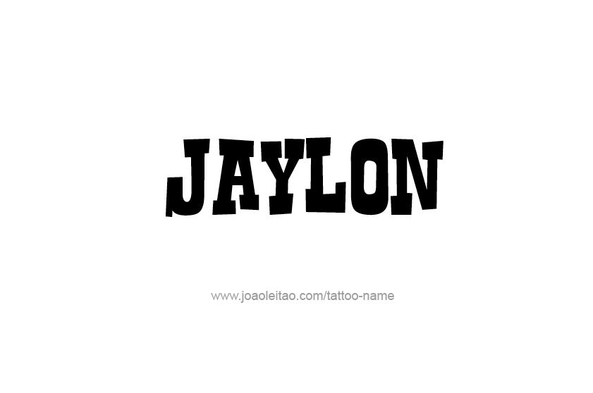 Tattoo Design  Name Jaylon