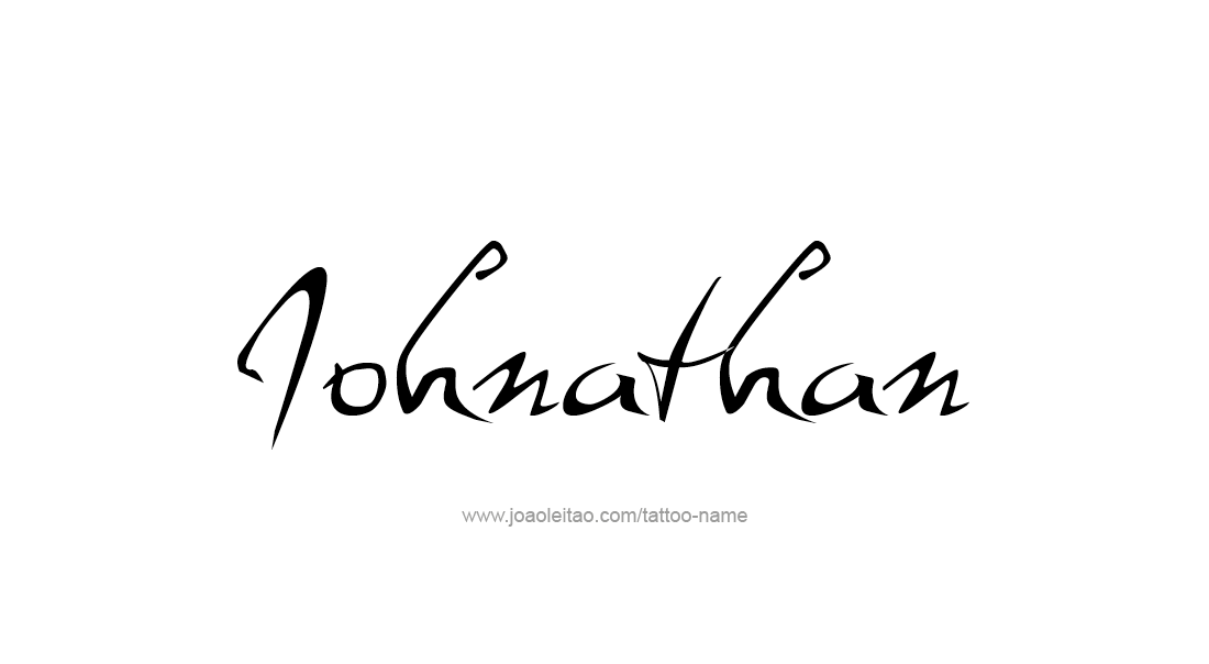 Tattoo Design  Name Johnathan