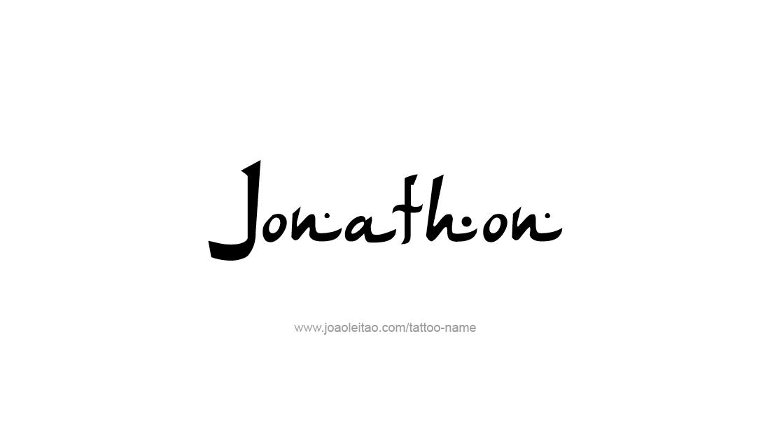 Tattoo Design  Name Jonathon