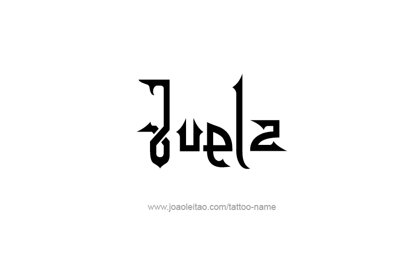Tattoo Design  Name Juelz