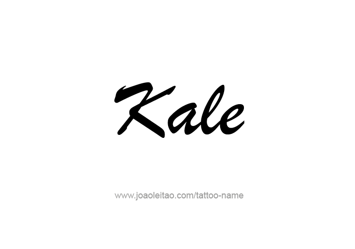 Tattoo Design  Name Kale