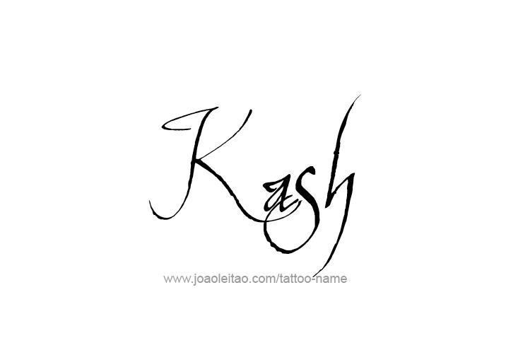 Tattoo Design  Name Kash