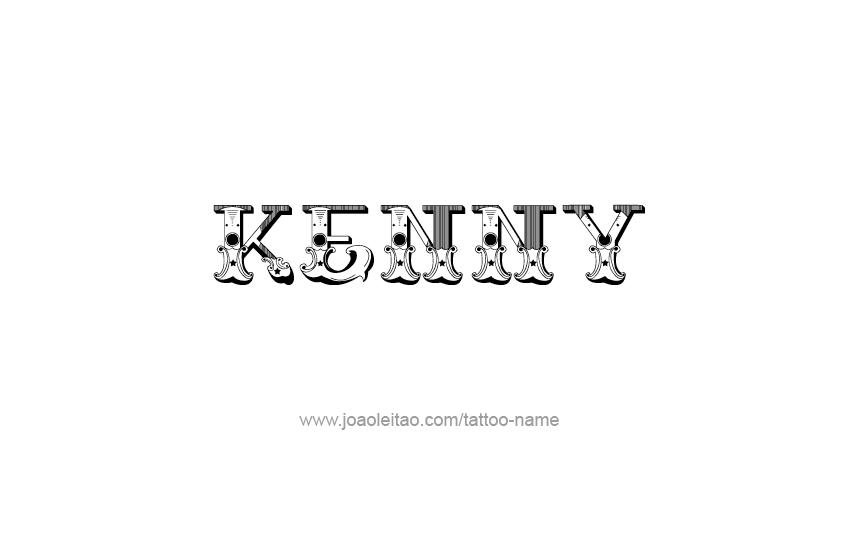 Tattoo Design  Name Kenny