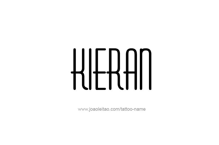 Tattoo Design  Name Kieran