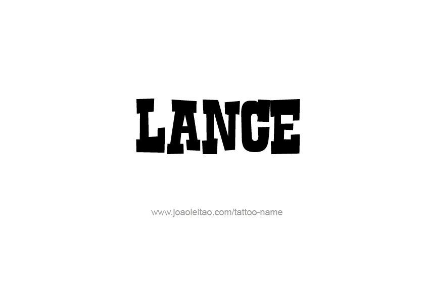 Lance name - Meaning of Lance