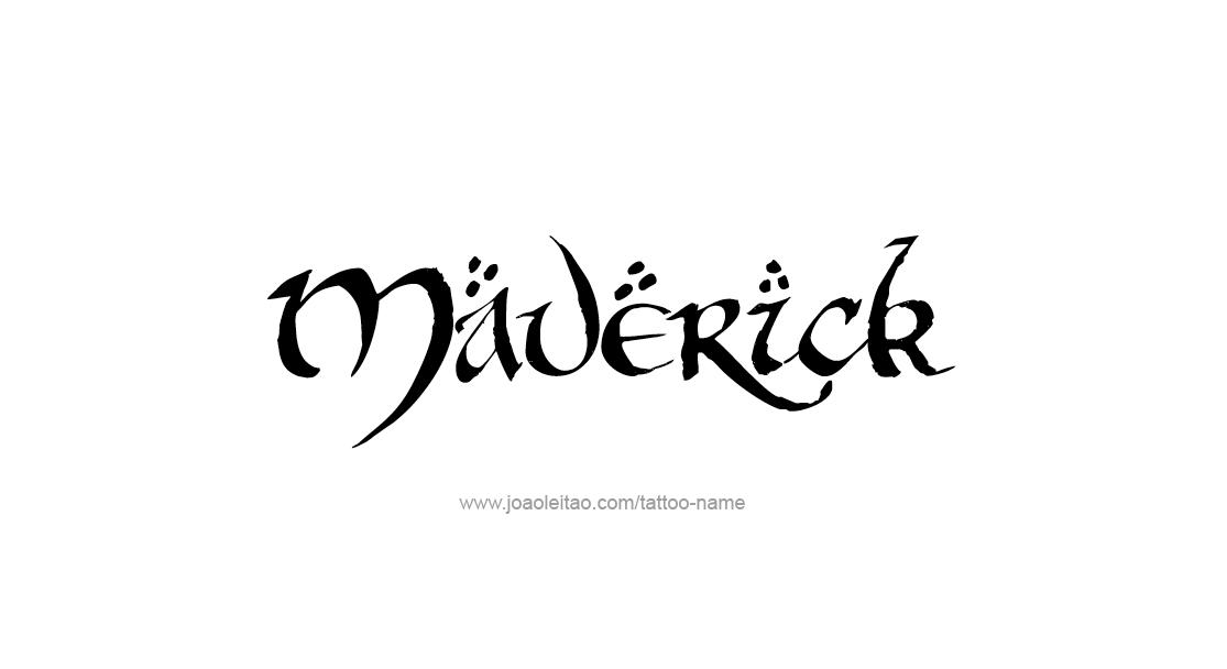 Maverick Name